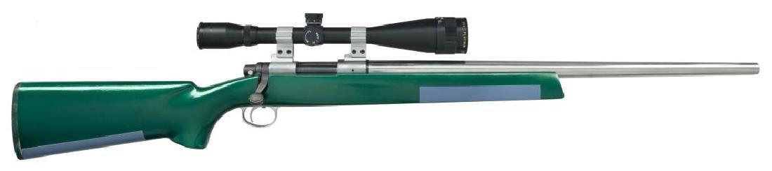 REMINGTON MODEL 700 BENCHREST BOLT ACTION RIFLE.