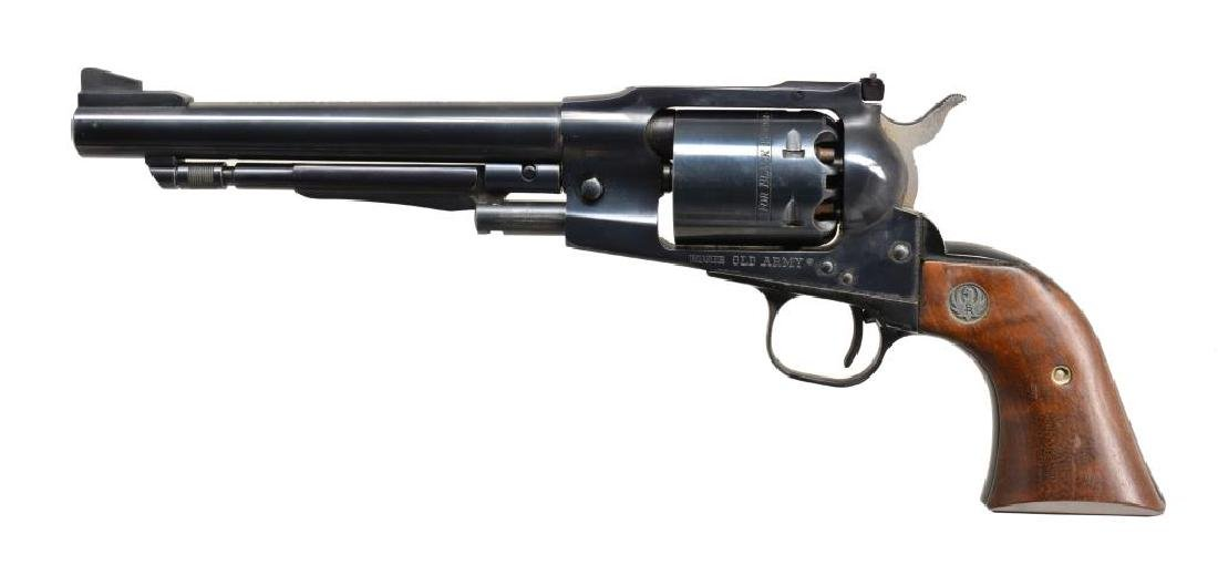 RUGER OLD ARMY CAP AND BALL REVOLVER.
