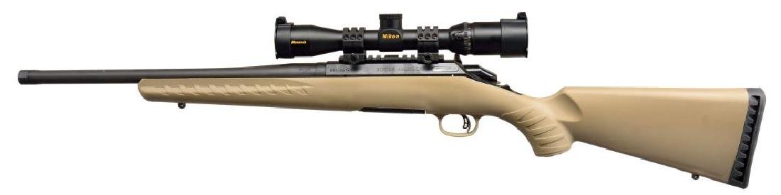 RUGER AMERICAN BOLT ACTION RANCH RIFLE. - 2