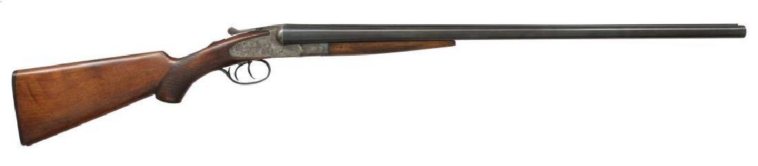2 SHOTGUNS. L.C. SMITH & BAKER SIDELOCK. - 2