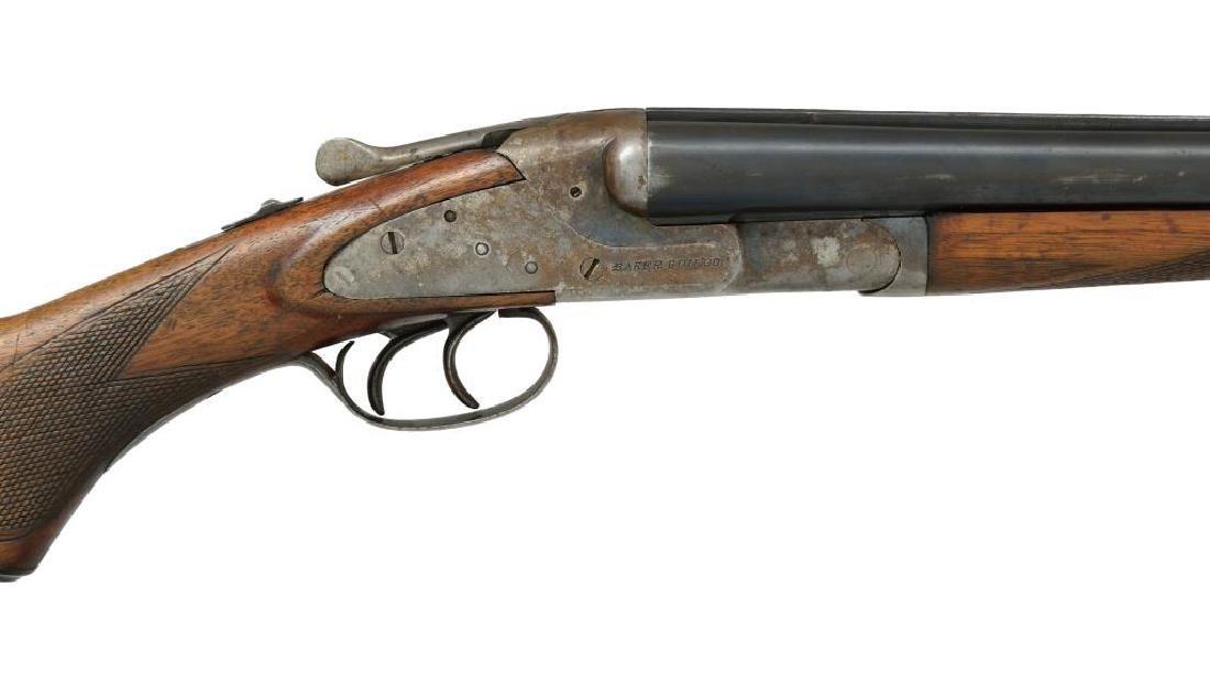 2 SHOTGUNS. L.C. SMITH & BAKER SIDELOCK. - 4