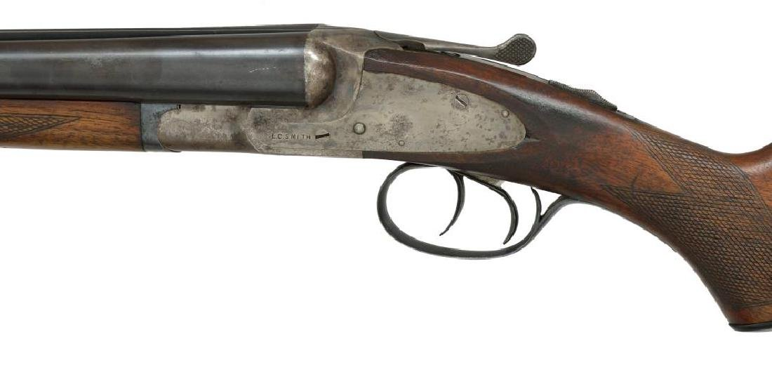 2 SHOTGUNS. L.C. SMITH & BAKER SIDELOCK. - 5