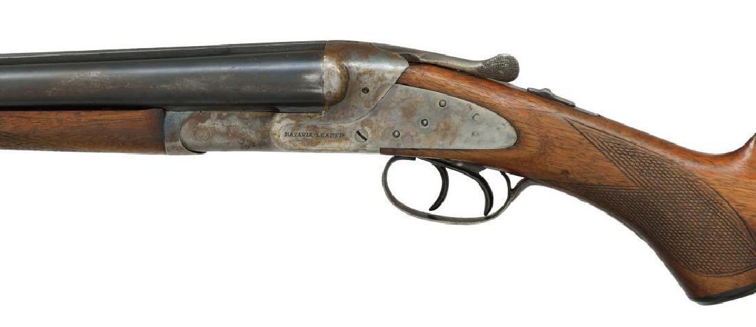 2 SHOTGUNS. L.C. SMITH & BAKER SIDELOCK. - 6