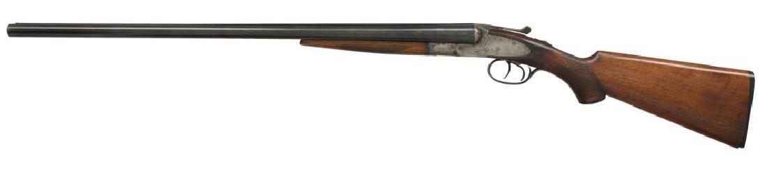 2 SHOTGUNS. L.C. SMITH & BAKER SIDELOCK. - 7