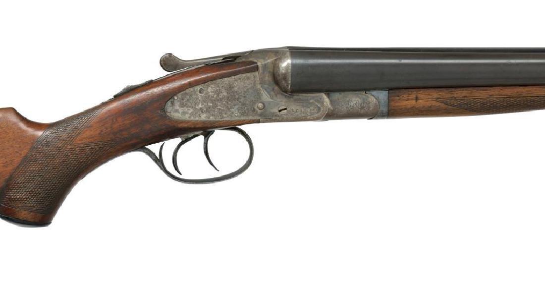 2 SHOTGUNS. L.C. SMITH & BAKER SIDELOCK. - 8