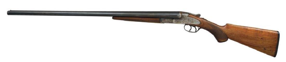 2 SHOTGUNS. L.C. SMITH & BAKER SIDELOCK. - 9