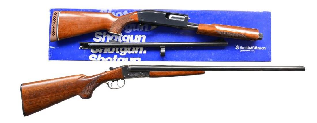 2 SHOTGUNS.