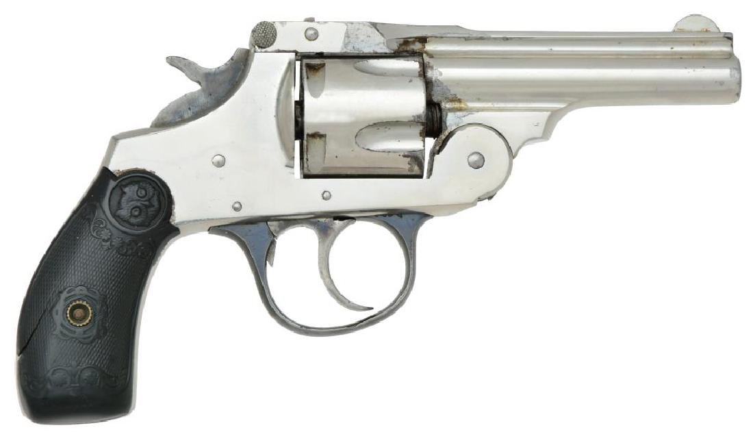 2 IVER JOHNSON SAFETY AUTOMATIC REVOLVERS. - 2