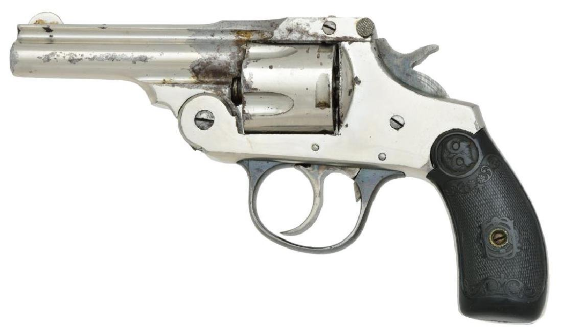 2 IVER JOHNSON SAFETY AUTOMATIC REVOLVERS. - 4