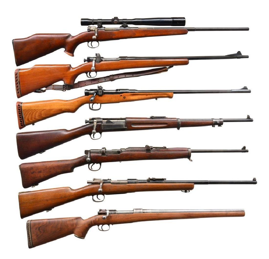 7 BOLT ACTION RIFLES.