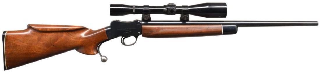 3 MARTINI STYLE SINGLE SHOT RIFLES. - 2