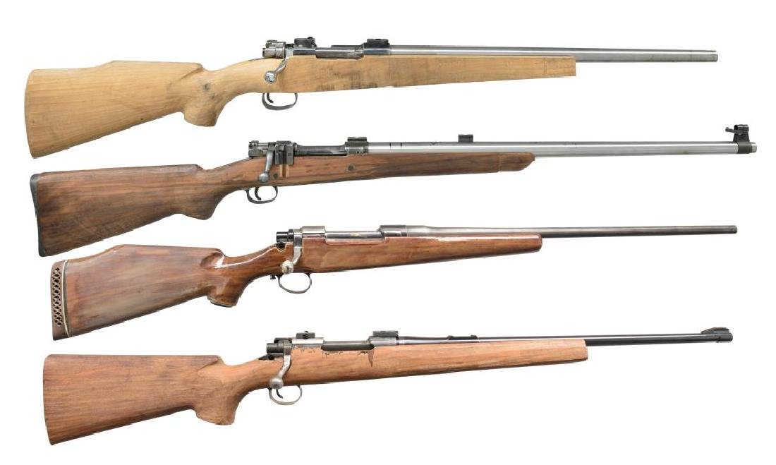 4 BOLT ACTION RIFLE PROJECTS.