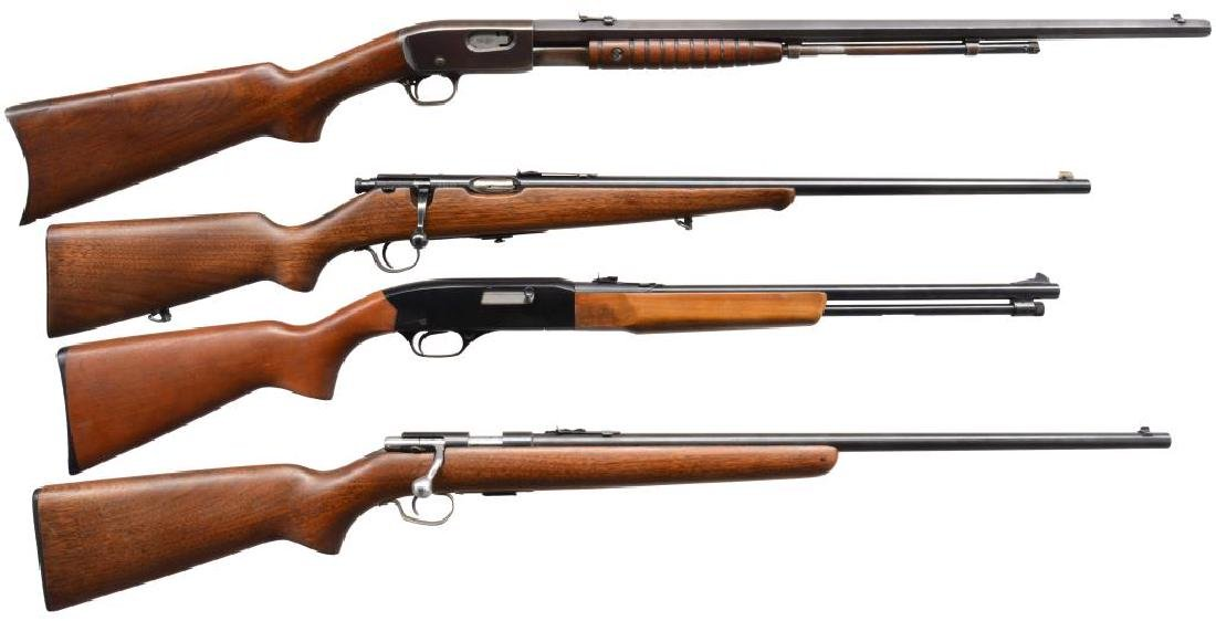 4 CLASSIC AMERICAN SPORTING RIFLES.