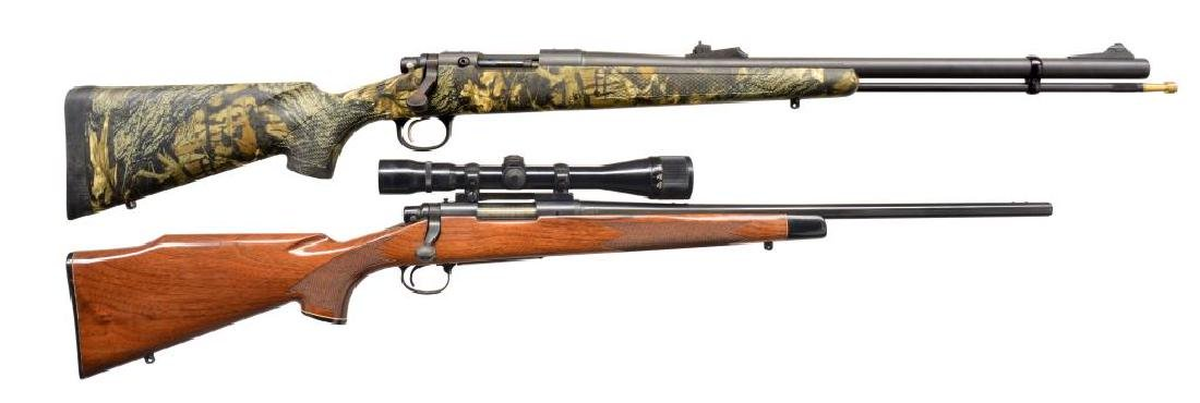 2 REMINGTON MODEL 700 RIFLES.
