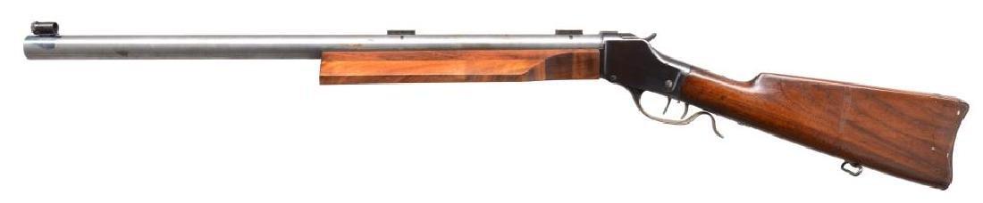 CUSTOM WINCHESTER HIGH WALL SINGLE SHOT RIFLE. - 2