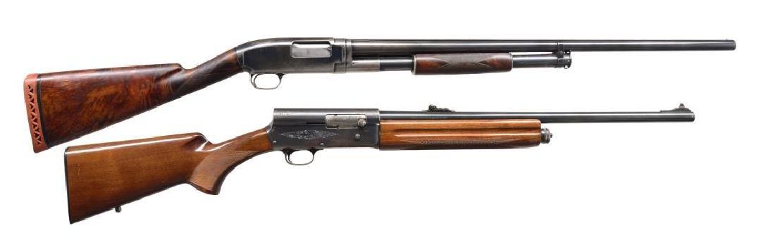 WINCHESTER & BROWNING REPEATING SHOTGUNS.