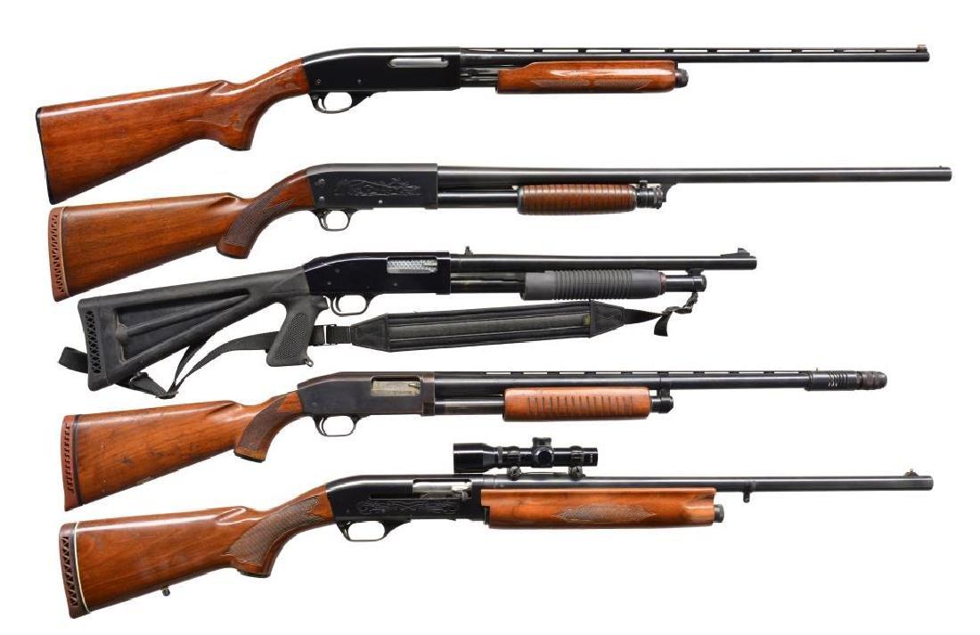 5 SHOTGUNS.