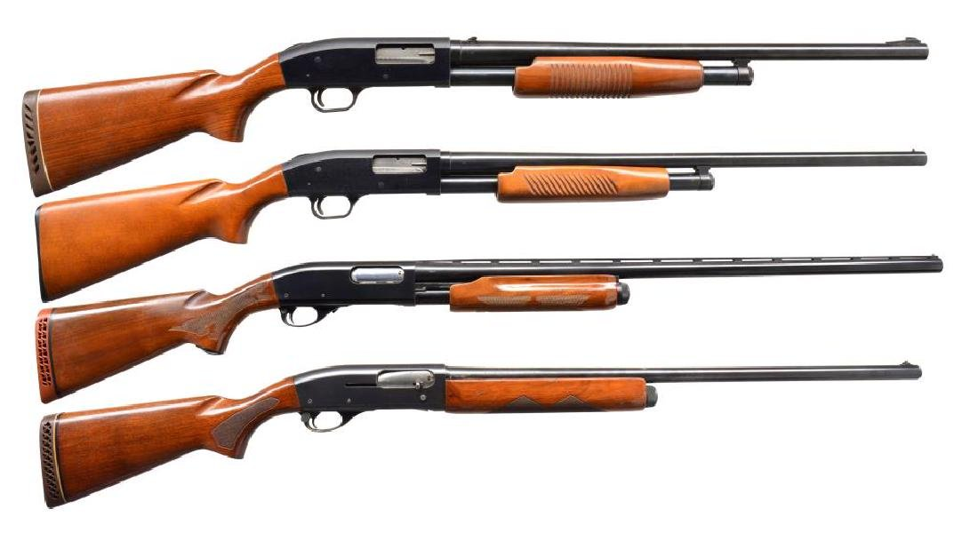 FOUR 12 GA SHOTGUNS.