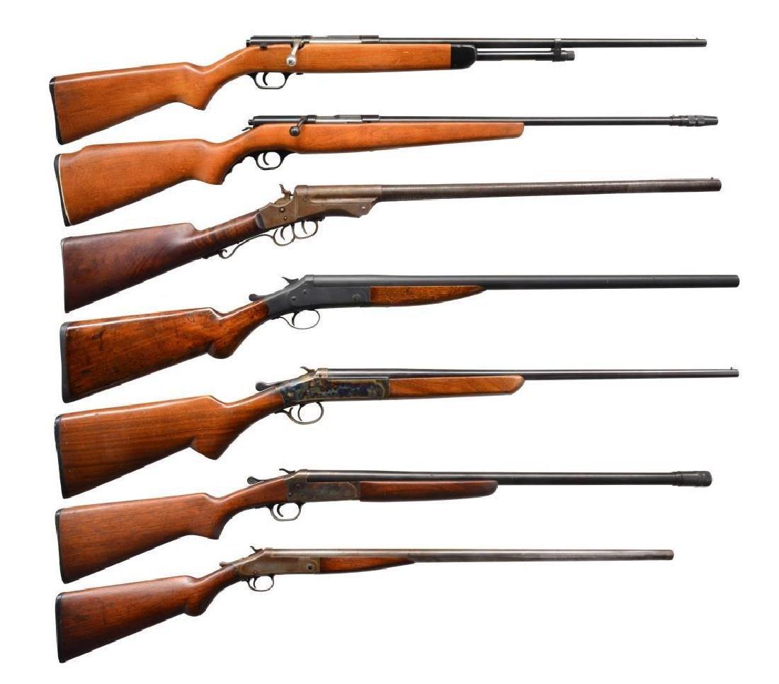 7 CURIO SHOTGUNS.