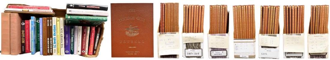 COLLECTION OF DOUBLE GUN JOURNALS & SHOTGUN