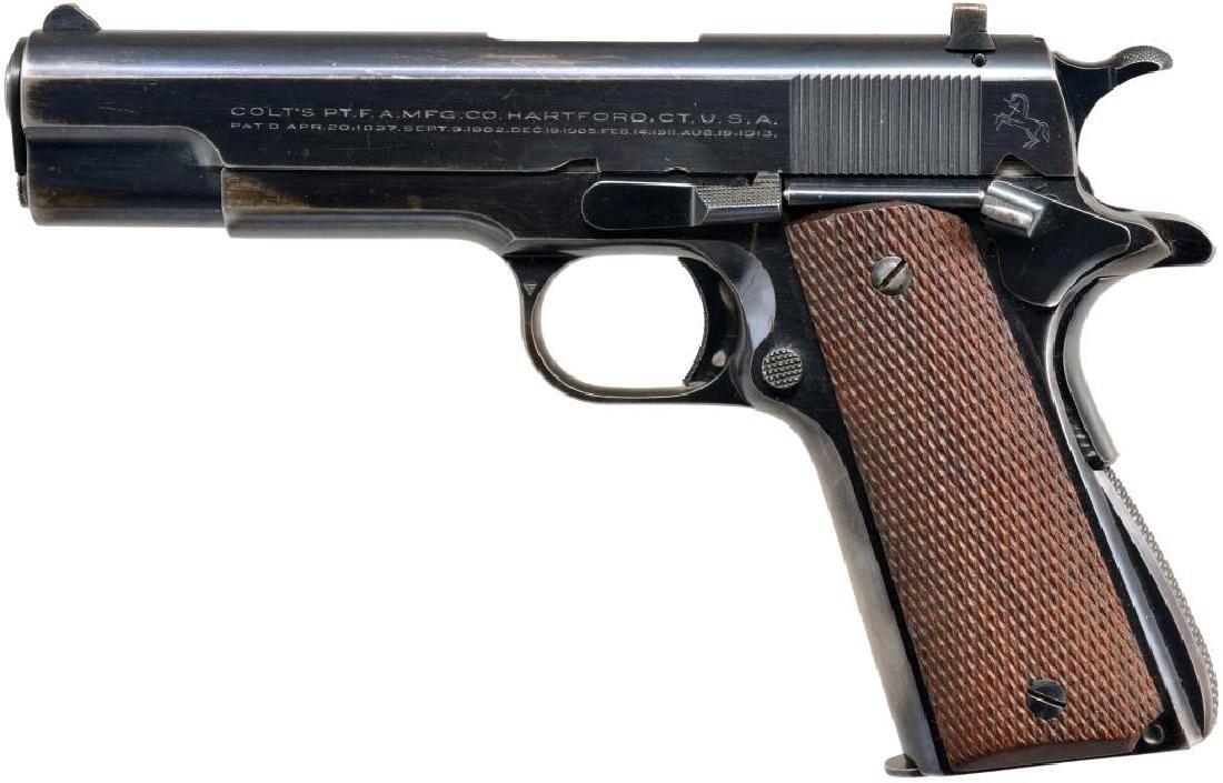 COLT ACE MODEL SEMI AUTO PISTOL.