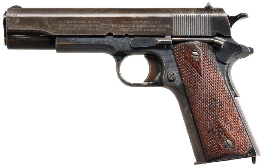 REMINGTON UMC MODEL 1911 SEMI AUTO PISTOL.