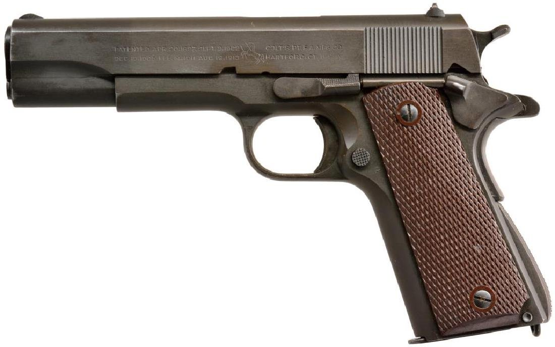 COLT LEND LEASE MODEL 1911 A1 SEMI AUTO PISTOL.