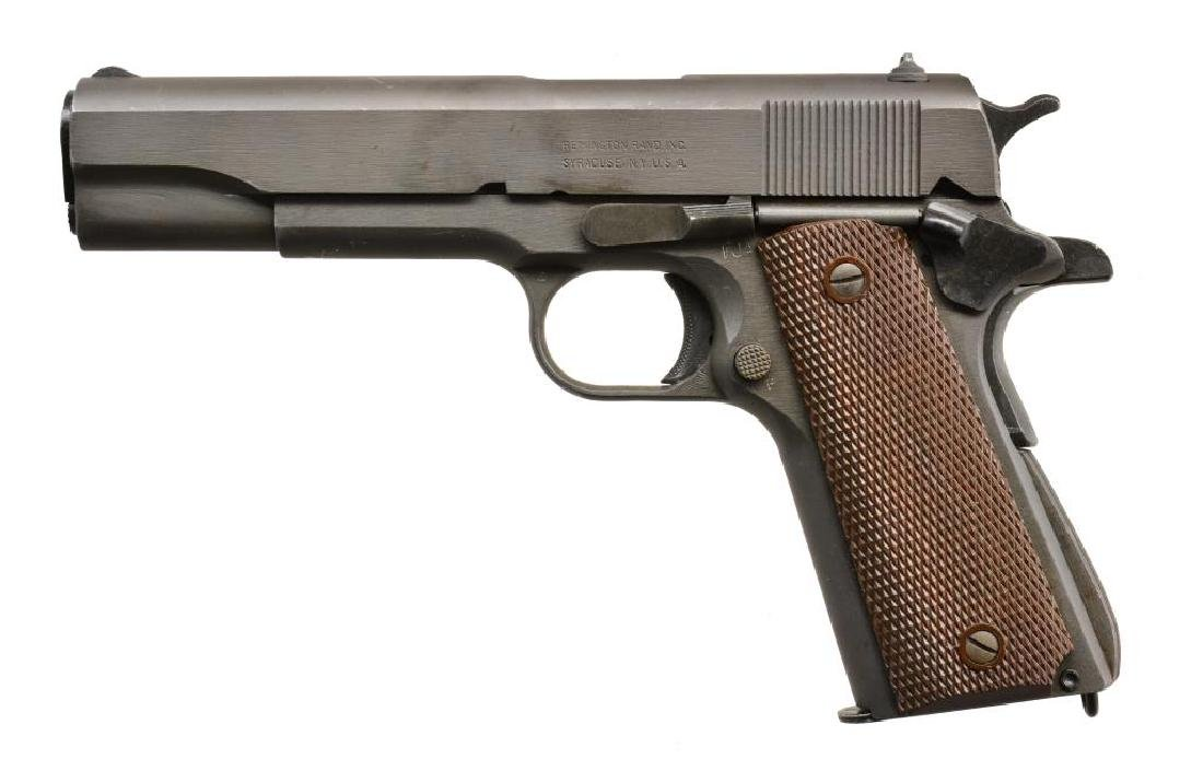 REMINGTON MODEL 1911 A1 SEMI AUTO PISTOL.