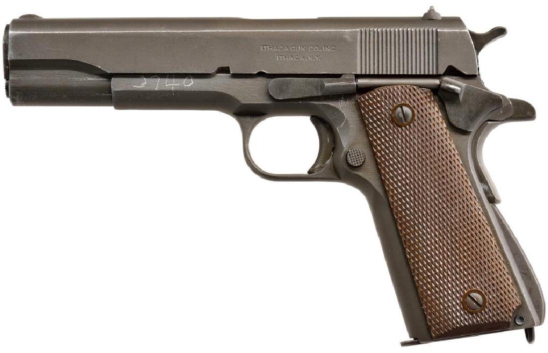 REMINGTON RAND MODEL 1911 A1 SEMI AUTO PISTOL.