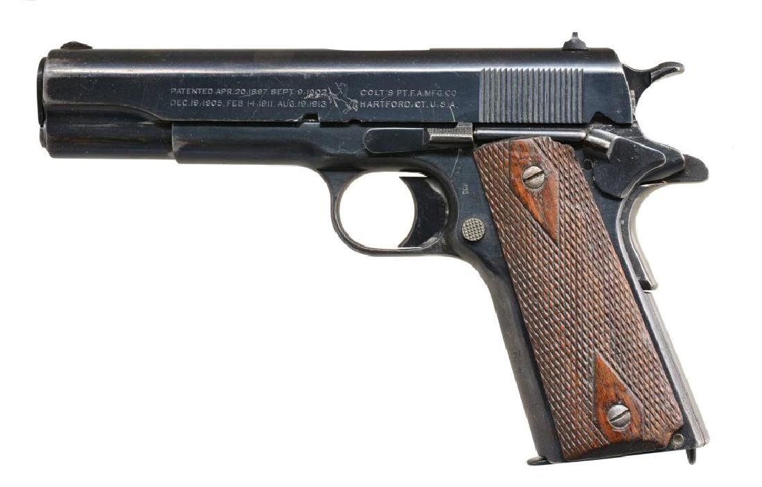 COLT MODEL 1911 U.S. ARMY SEMI AUTO PISTOL.