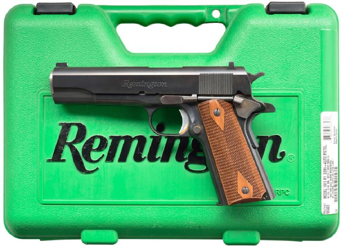 REMINGTON MODEL 1911 R1 SEMI AUTO PISTOL.
