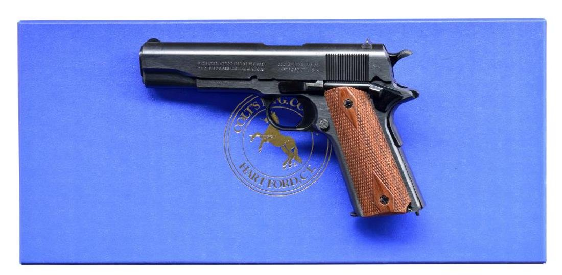 COLT CUSTOM SHOP MODEL 1911 SEMI AUTO PISTOL.