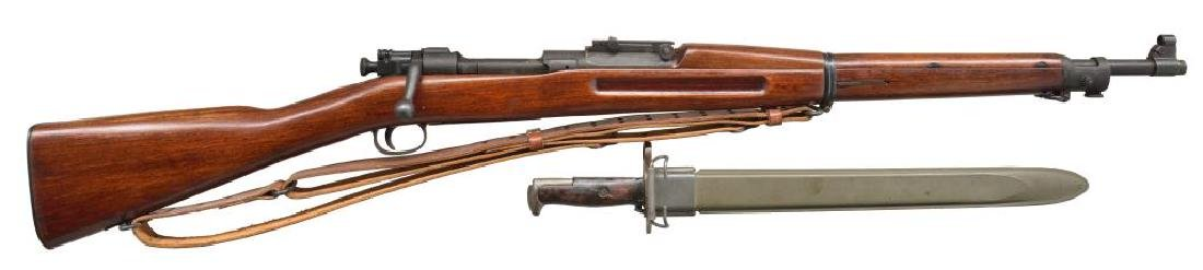 2 MILITARY BOLT ACTION RIFLES. - 2