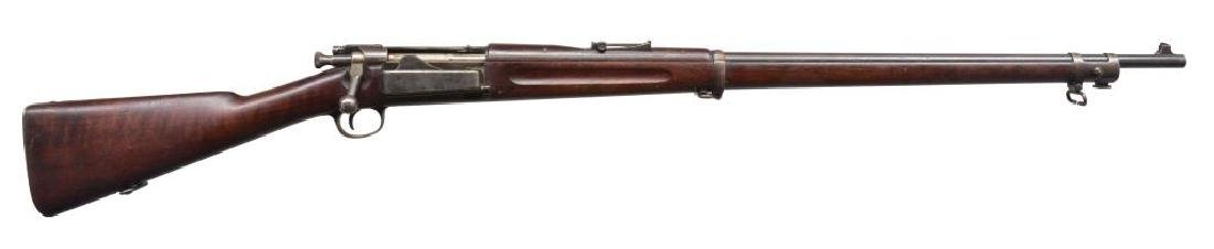 SPRINGFIELD 1896 KRAG BOLT ACTION RIFLE.