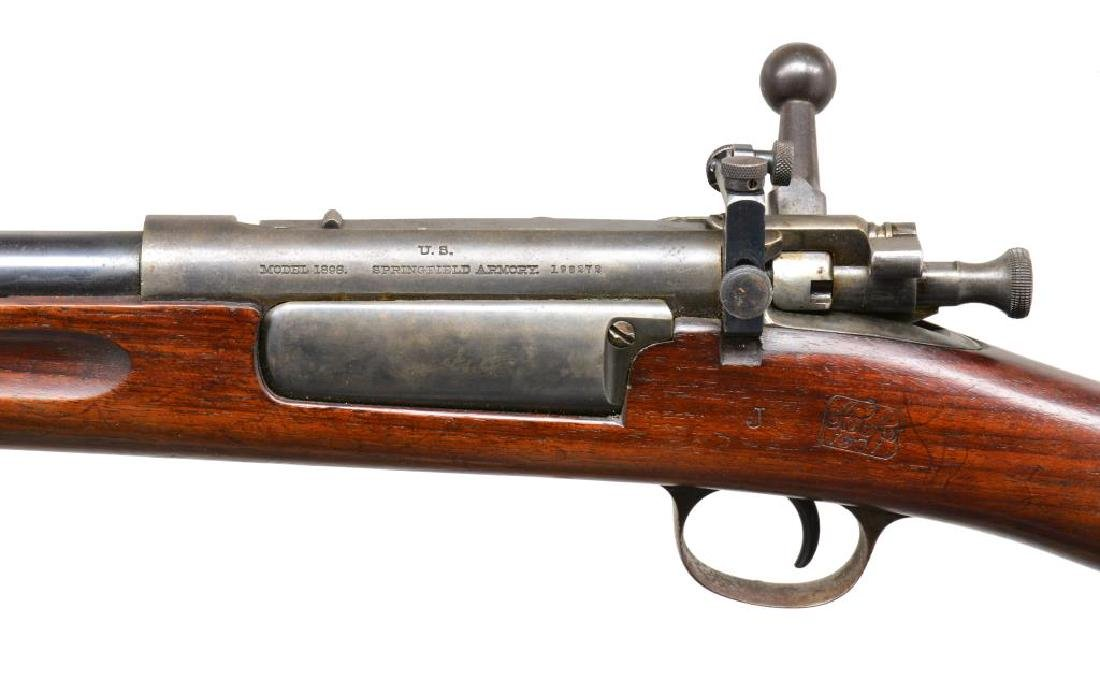 SPRINGFIELD 1898 KRAG BOLT ACTION RIFLE. - 3