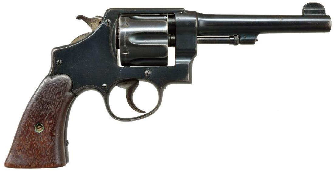 SMITH & WESSON MODEL 1917 REVOLVER.