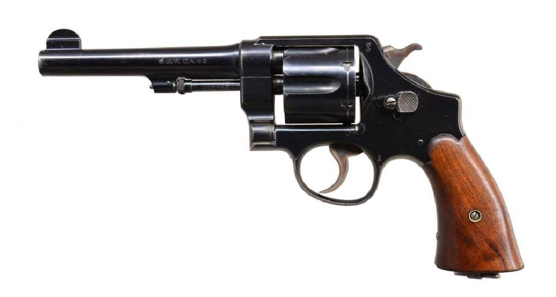 SMITH & WESSON 1917 ARMY REVOLVER.