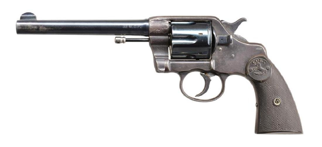 COLT NEW ARMY & NAVY MODEL DA REVOLVER.