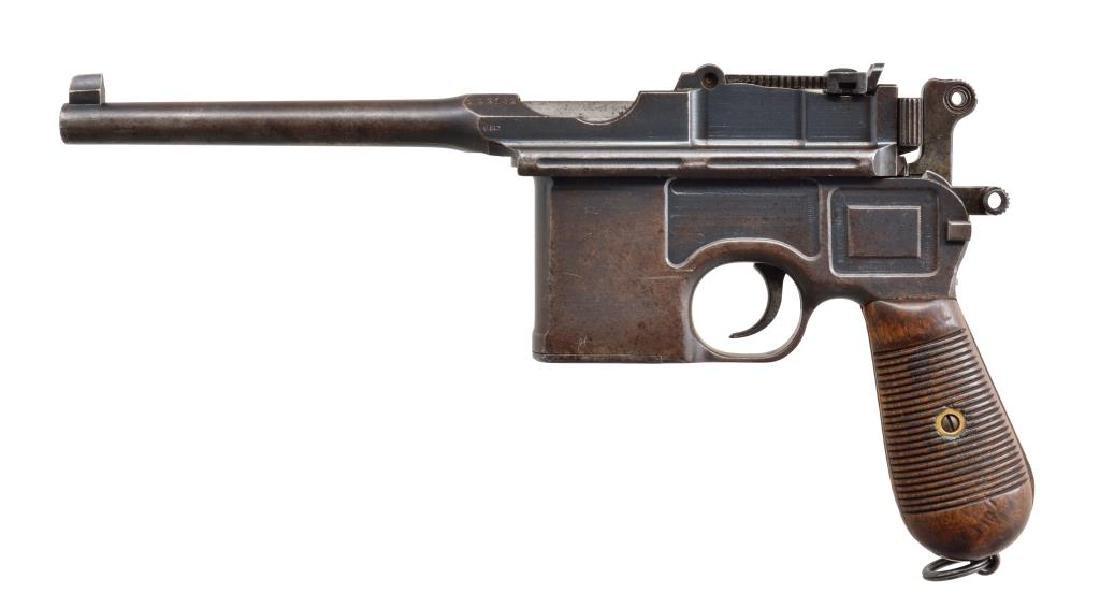 MAUSER STANDARD PRE-WAR COMMERCIAL C96 SEMI - 2