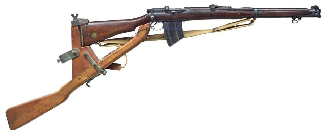 ENFIELD SMLE MK III* RIFLE WITH TRENCH WARFARE