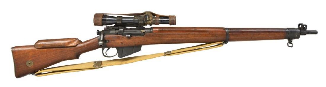 BRITISH WWII ENFIELD NO. 4 MK I BOLT ACTION SNIPER