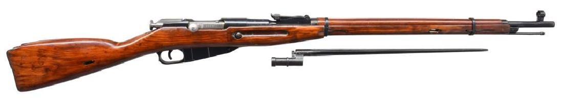 2 IZHEVSK 91/30 BOLT ACTION RIFLES. - 2