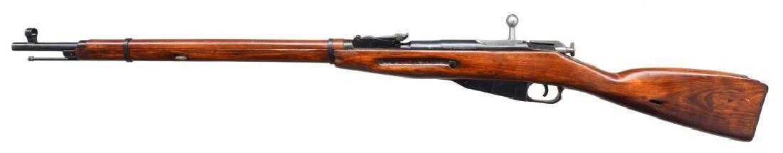 2 IZHEVSK 91/30 BOLT ACTION RIFLES. - 4
