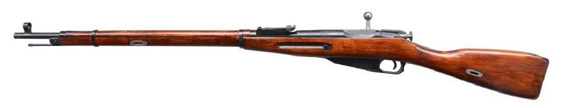2 IZHEVSK 91/30 BOLT ACTION RIFLES. - 6
