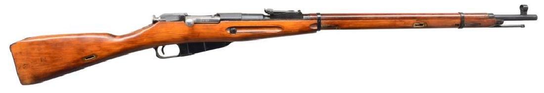 2 RUSSIAN MODEL 91/30 BOLT ACTION RIFLES. - 2