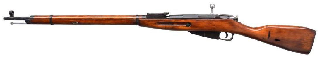 2 RUSSIAN MODEL 91/30 BOLT ACTION RIFLES. - 5