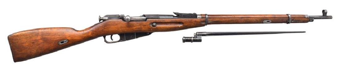 2 RUSSIAN MODEL 91/30 BOLT ACTION RIFLES. - 2