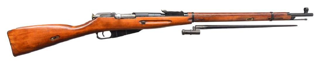 2 RUSSIAN MODEL 91/30 BOLT ACTION RIFLES. - 3