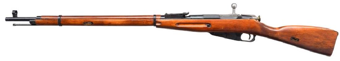 2 RUSSIAN MODEL 91/30 BOLT ACTION RIFLES. - 4