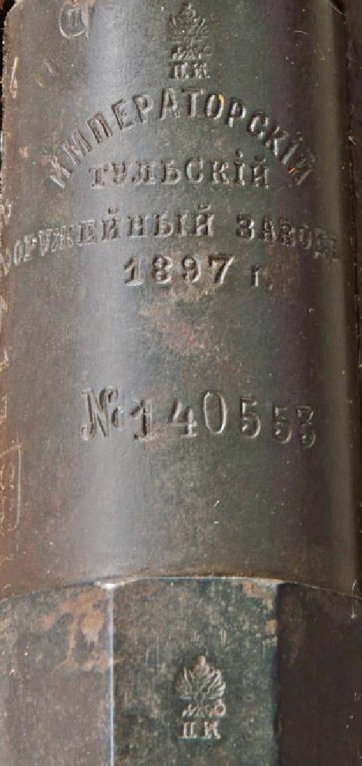 2 TULA MODEL 1891 FINNISH BOLT ACTION RIFLES. - 4